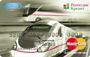 Кредитная транспортная карта
