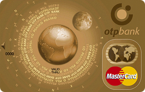 Кредитная карта MasterCard Gold