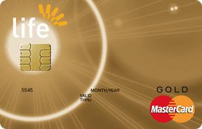 Кредитная карта Master Card Gold