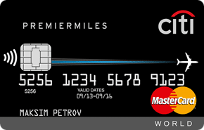 Кредитная карта Citi PremierMiles от Ситибанка
