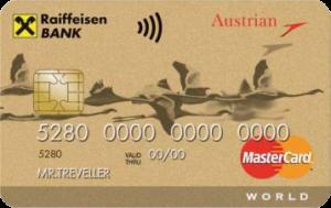Кредитная карта Austrian Airlines World