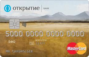 Классическая кредитная карта Gold Открытие