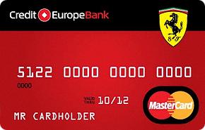 Кредитная карта Ferrari