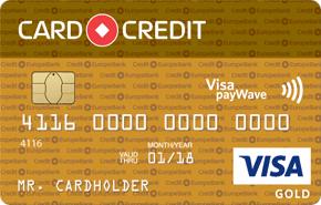 Кредитная карта CARD CREDIT Gold