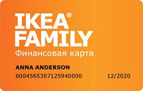 Карта IKEA