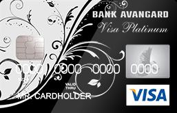 Кредитная карта Platinum Авангард