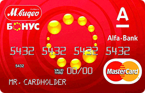 Кредитная карта «М.Видео-Бонус»