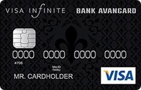Кредитная карта Visa Infinite банка Авангард