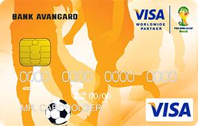 Кредитная карта FIFA от банка Авангард