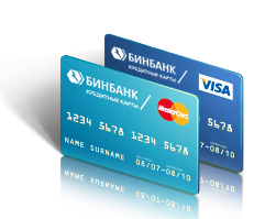 Как узнать реквизиты кредитной карты Бинбанк