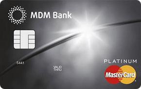 Кредитная карта Platinum PayPass