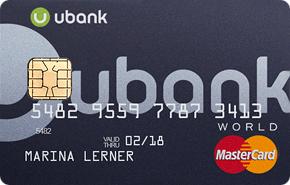 Кредитная карта uBank