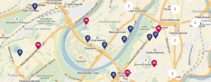 Банки партнеры почта банка на карте