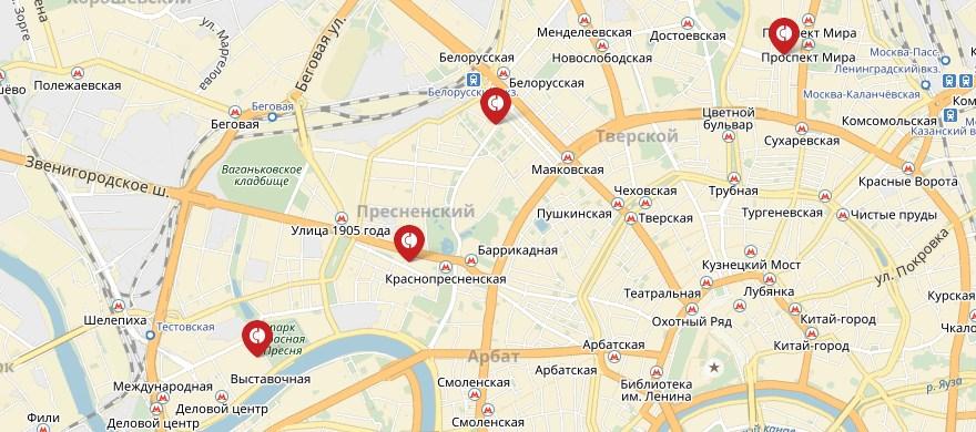 Банкоматы Совкомбанка на карте