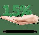 1,5% от суммы всех покупок, совершенных с помощью этой карты, ежемесячно перечисляется банком в поддержку детского хосписа «Дом с маяком»
