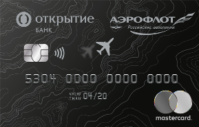 Кредитная карта Аэрофлот Премиальная