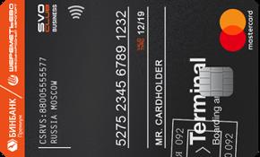 Кредитная карта Svo club platinum