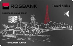 Дебетовая карта Platinum Travel Miles